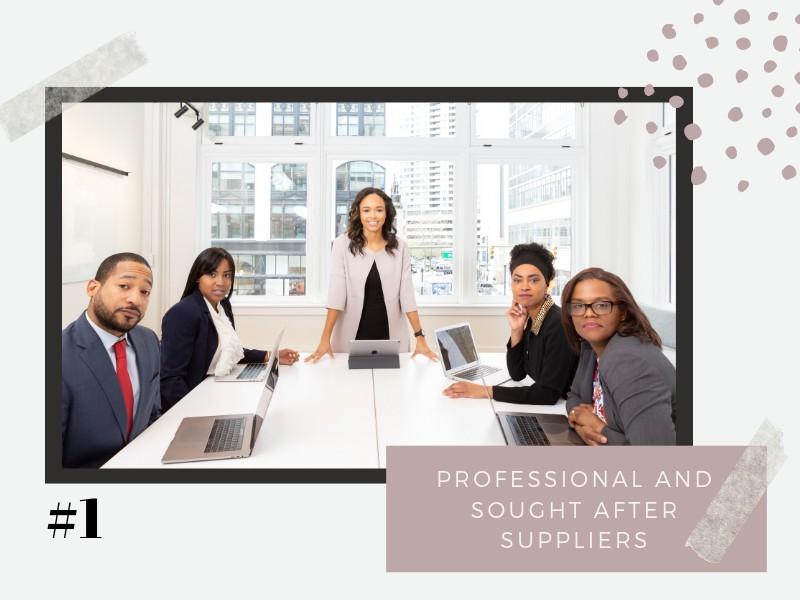 Professional Wedding Suppliers