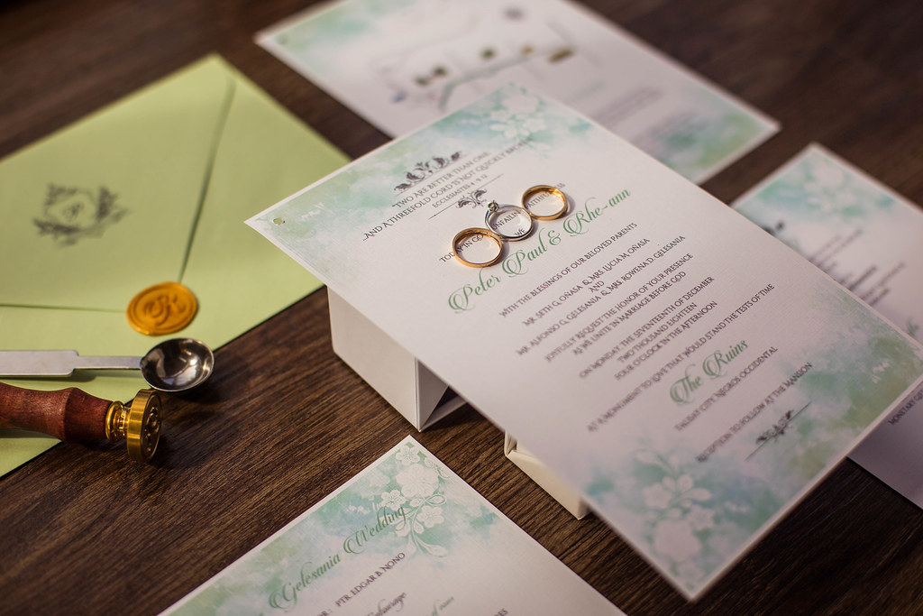 Wedding Invitation Format for Your DIY Invitation