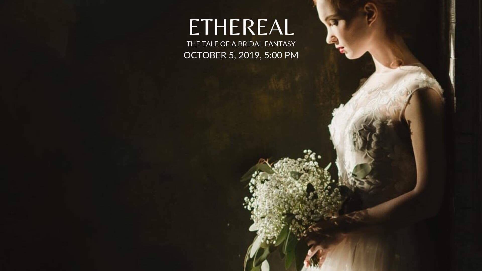 Ryan Chris Introduces Ethereal Bridal Show (and It's For a Cause!)