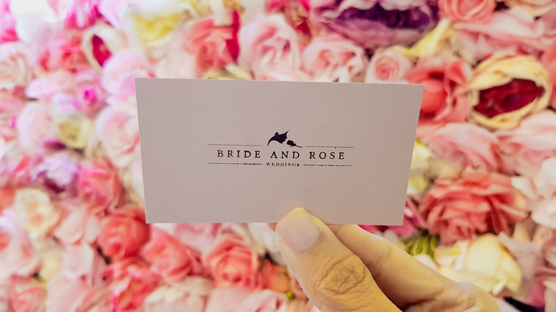 Bride and Rose membership card