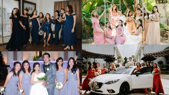 Bridesmaids Ideas 2020: Here's The Budgetarian Bride January Feature