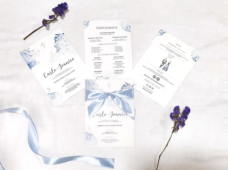 wedding invitations samples