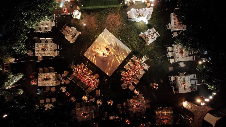 wedding events place