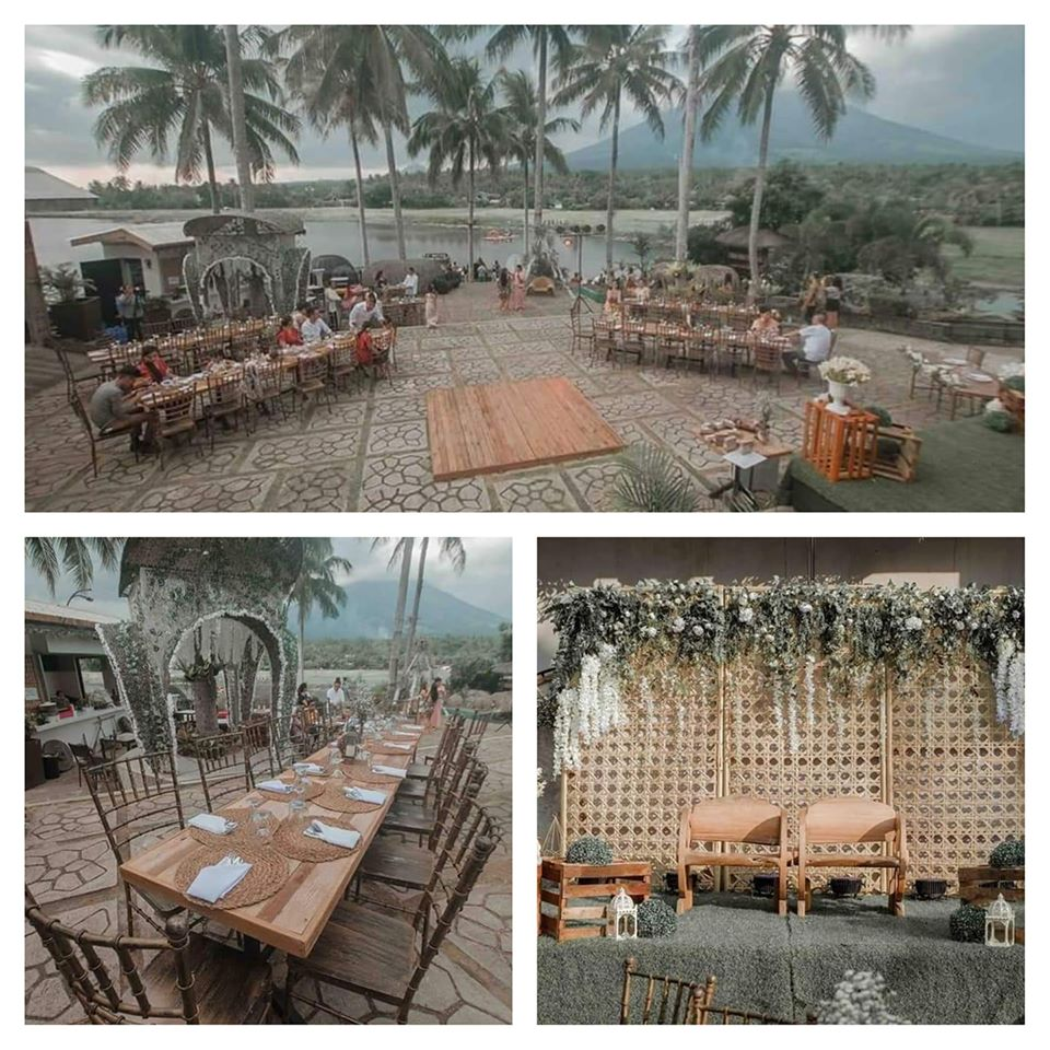 wedding reception venue albay