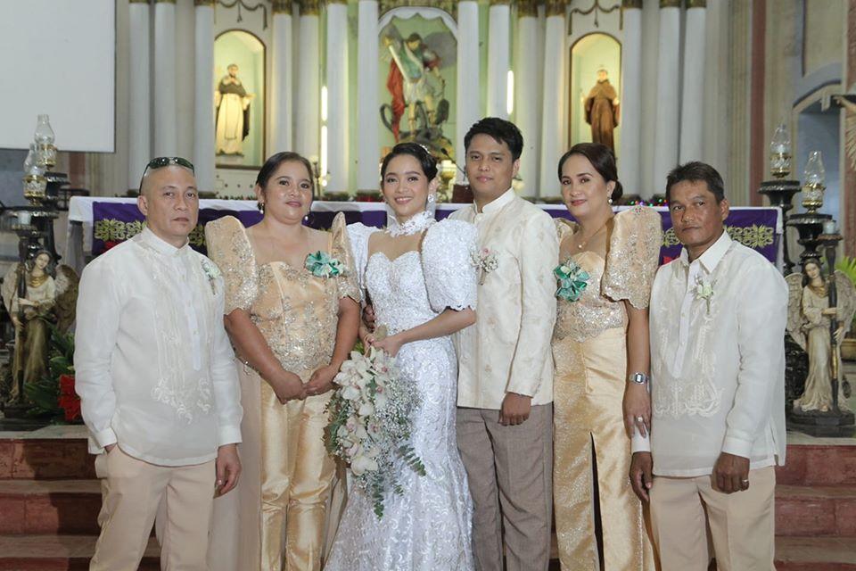 Filipiniana wedding