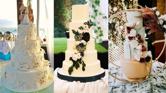 Wedding Cake Ideas: Here's The Budgetarian Bride February Feature