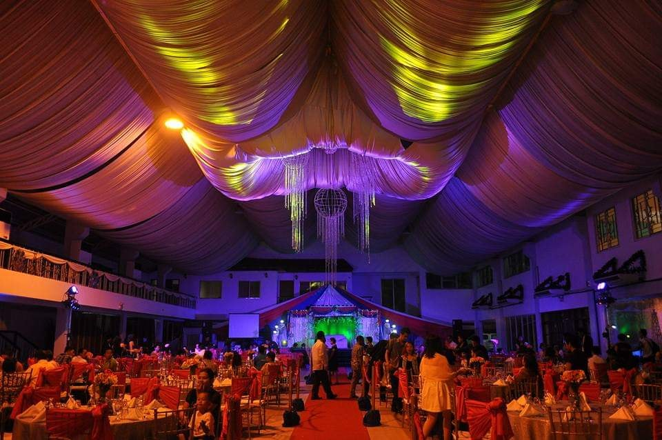 wedding reception in Valenzuela