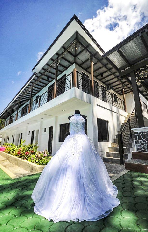 cheap wedding gown