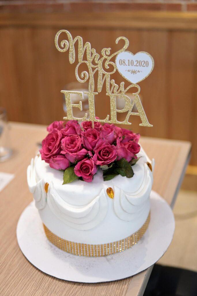 budgetarian wedding cake
