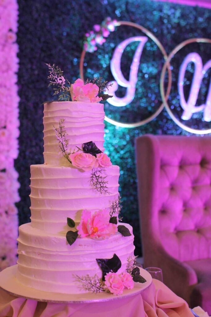 minimalist wedding cake philippines